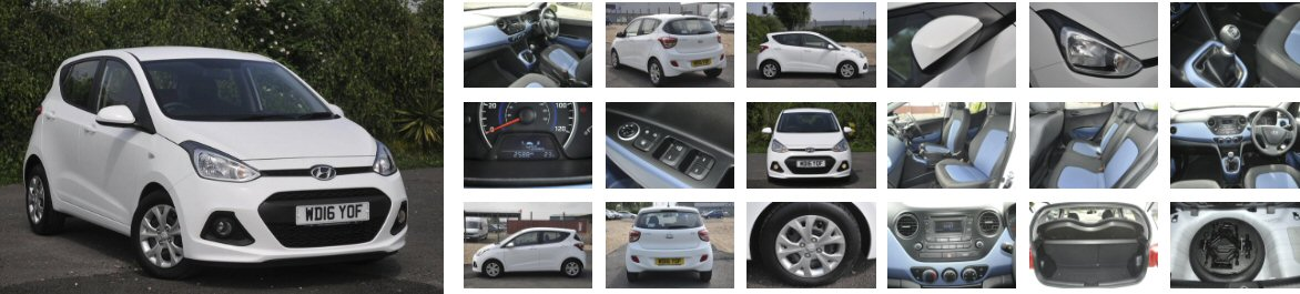 Used car example photos